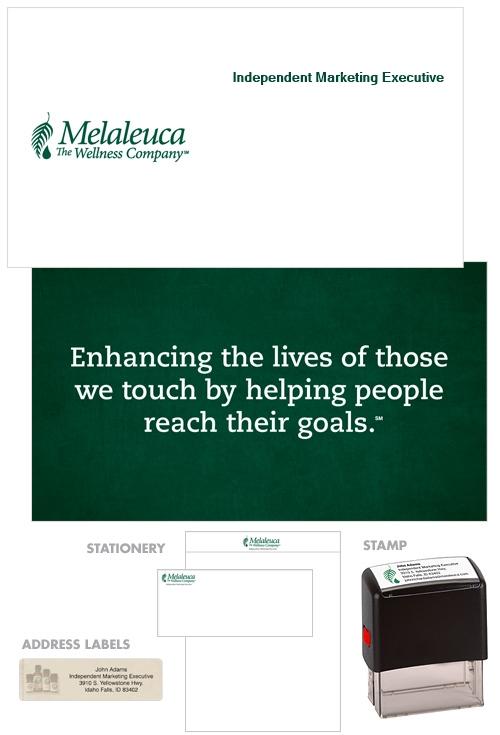 Melaleuca Business Kit Mission Statement Green Melaleuca