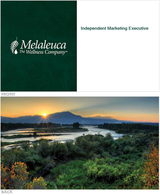 Melaleuca Business Card - Scenic - Melaleuca