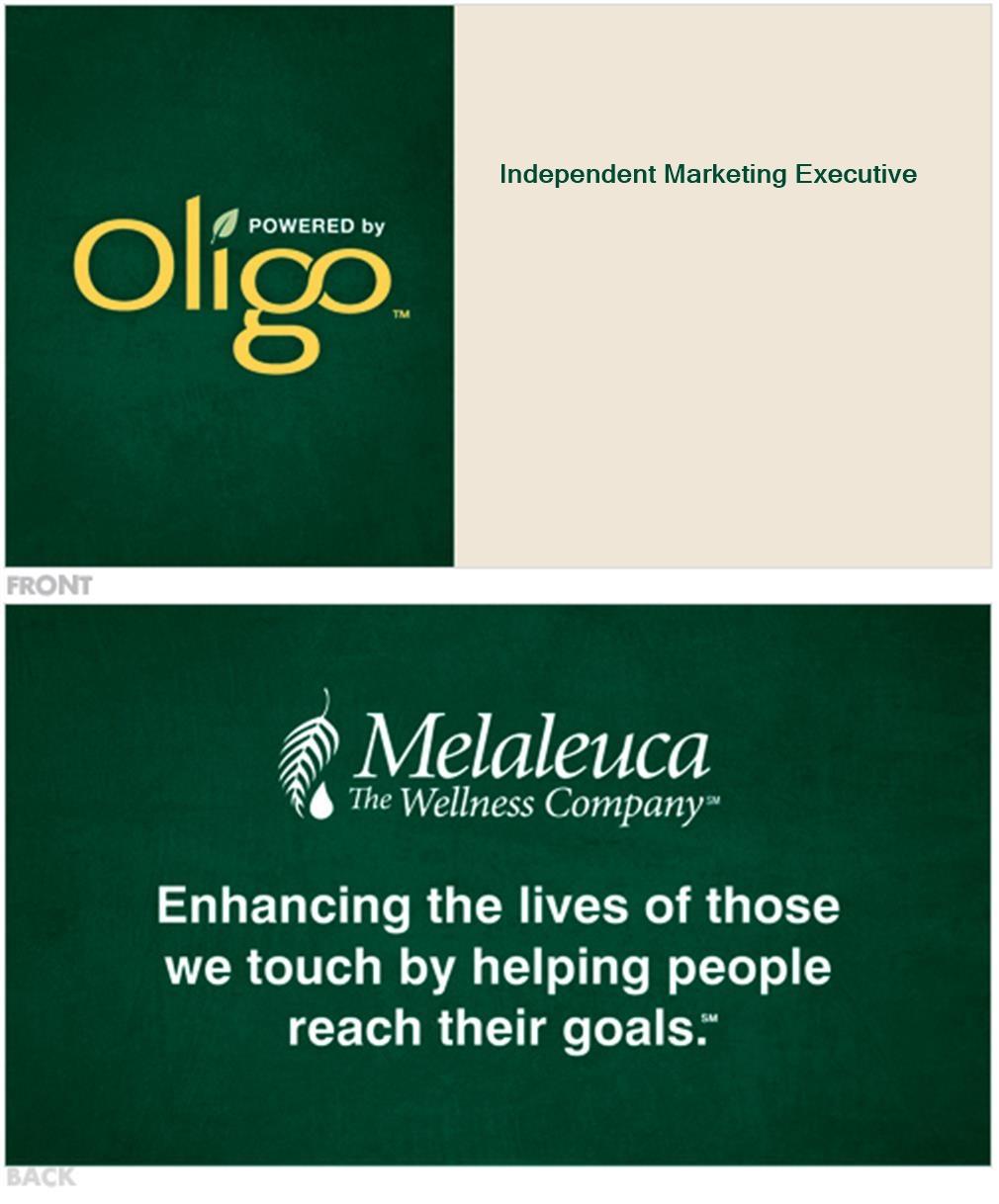 Melaleuca Business Cards - Oligo - Melaleuca